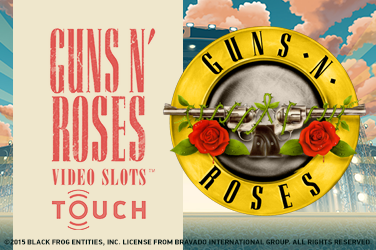 Guns N' Roses spilleautomat Touch logo norske casino