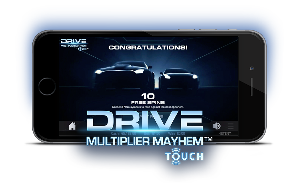 Netent Drive: Multiplier Mayhem Touch